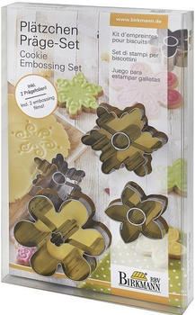 Birkmann Präge-Set Blüten 5-teilig