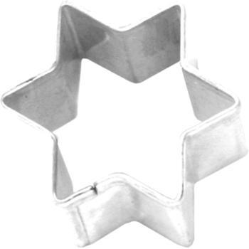 Birkmann Ausstecher Stern Weißblech 3 cm
