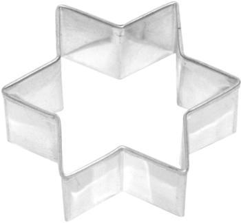 Birkmann Ausstecher Stern Weißblech 6 cm