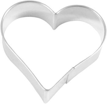 Birkmann Ausstecher Herz Weißblech 7,5 cm