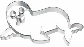 Birkmann Ausstecher Seehund liegend 10 cm