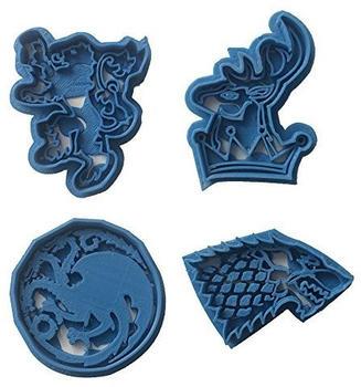 Cuticuter Game of Thrones Ausstechformen 4 Stück