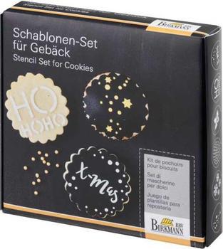 Birkmann Christmas Glamour Schablonen-Set