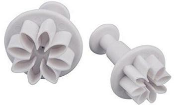 Patisse 2049 Ausstechformen-Set Blume mit Auswerfer, 2-teilig
