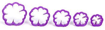 Decora Ausstechformen Wild Rose Kit, Violett
