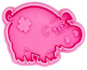 Städter Präge-Ausstecher Schwein mit Auswerfer 6cm