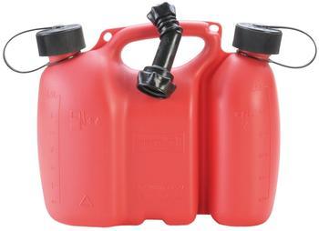 Hünersdorff Doppelkanister Profi 3 + 1,5 Liter rot