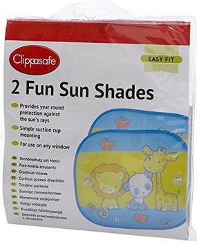 Clippasafe Fun Sun Shade 2-Pack