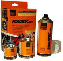 Foliatec Bremssattel Lack Set stratos-silber metallic