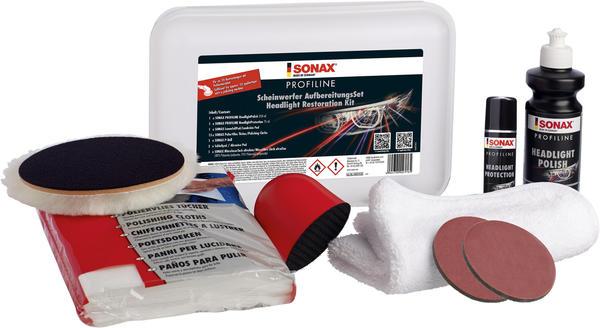 Sonax 4057410 PROFILINE ScheinwerferAufbereitungsSet