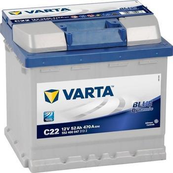 Varta Blue Dynamic 12V 52Ah C22
