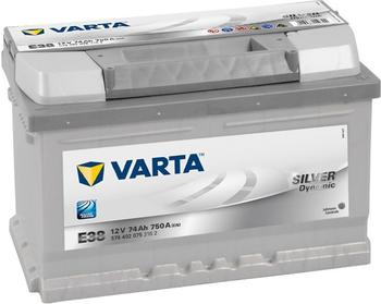 Varta Silver Dynamic 12V 74Ah E38