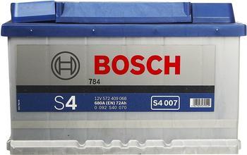 Bosch S4 12V 72Ah (0 092 S40 070)