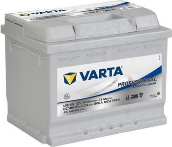 Varta Professional Dual Purpose 12V 60Ah LFD 60
