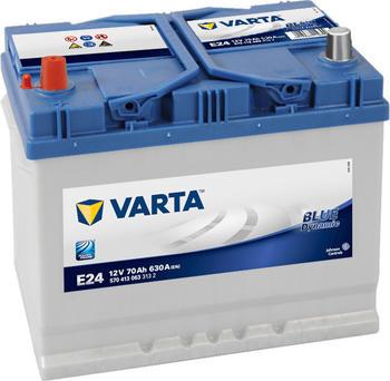 Varta Blue Dynamic 12V 70Ah E24