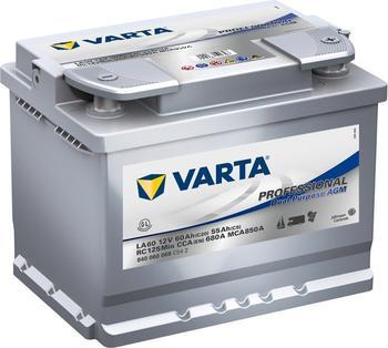 Varta Professional Dual Purpose AGM 12V 60Ah LA 60