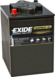 Exide Equipment Gel ES1000-6 6V 190Ah