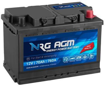 NRG AGM 12V 70Ah
