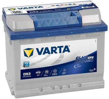 Varta Blue Dynamic EFB 12V 60Ah N60