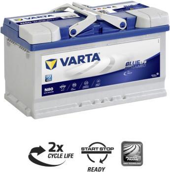 Varta Blue Dynamic EFB 12V 80Ah N80