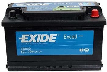 Exide Excell EB800 12V 80Ah
