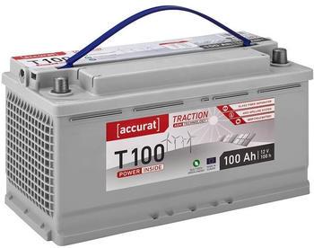 Accurat T100 AGM 12V 100Ah