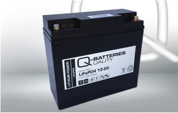 Q-Batteries LiFePO4 12-20