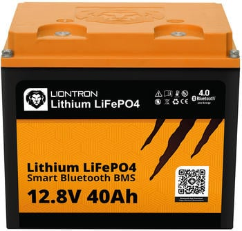 Liontron Lithium LiFePO4 LX Smart BMS 12,8V 40Ah (LI-SMART-LX-12-40)
