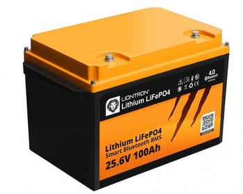 Liontron Lithium LiFePO4 LX Smart BMS 25,6V 100Ah (LI-SMART-LX-24-100)