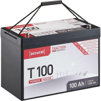 Accurat Traction T100 LiFePO4 12V 100Ah