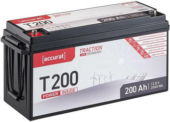 Accurat Traction LFP T200 (12V 200Ah) TN3667