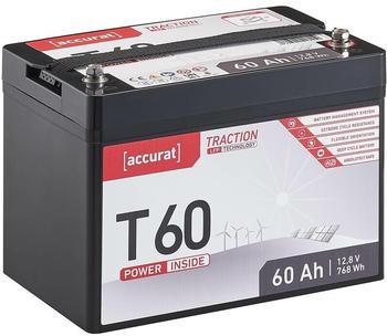 Accurat Traction LFP T60 (12V 60Ah) TN3663