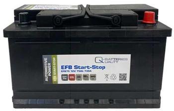Q-Batteries EFB75 12V 75Ah