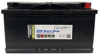 Q-Batteries EFB100 100Ah