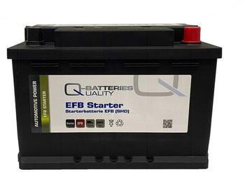 Q-Batteries EFB70 75Ah
