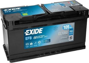 Exide EL1050 12V EFB 105Ah