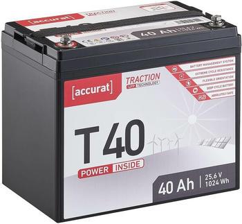 Accurat Traction LFP T40 (24V 40Ah) TN3669