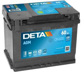 DETA DK600 12V 60Ah
