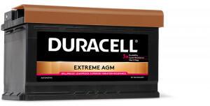 Duracell Extreme AGM 12V 80Ah (DE 80 AGM)