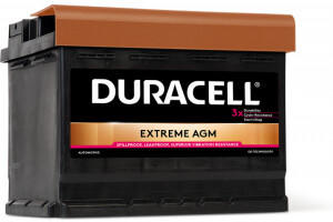 Duracell Extreme AGM 12V 60Ah (DE 60 AGM)