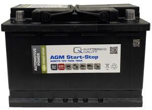 Q-Batteries AGM70 (9883258)