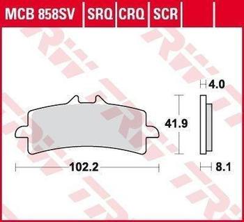 TRW MCB858CRQ