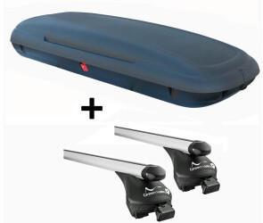 VDP CA480 carbonlook + Alu Relingträger Quick kompatibel mit Skoda Kamiq (5 Türer) ab 2019