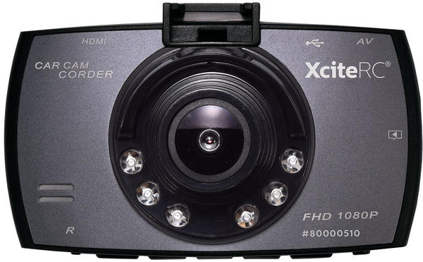 "XciteRC Dashcam FHD 2.7""-TFT HDMI"