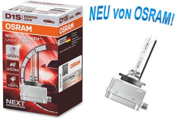 Osram Night Breaker Laser D1S (66140XNL)