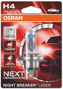 Osram Night Breaker Laser H4 Next Gen (64193NL-01B)