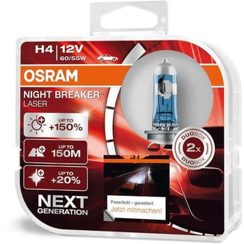 Osram Night Breaker Laser H4 Next Gen (64193NL-HCB)