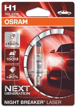 Osram Night Breaker Laser H1 Next gen (64150NL-01B)