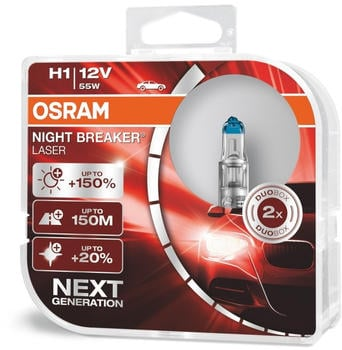 Osram Night Breaker Laser H1 Next gen (64150NL-HCB)