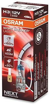 Osram Night Breaker Laser H3 Next Gen (64151NL)